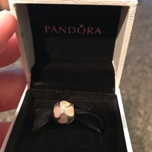 Authentic Pandora Love Me Mother of Pearl charm